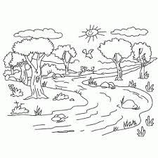 Landschappen Kleurplaten Leuk Voor Kids