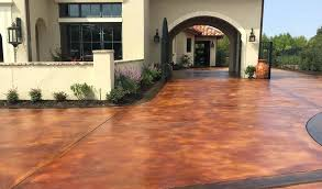 Stained concrete patio gray Amazing Stained Concrete Ideas Acid Stained Concrete Driveway Stained Concrete Patio Images Stained Concrete Porch Ideas Stained Concrete Stained Concrete Ideas Concrete Patio Stain Plain Stained Concrete