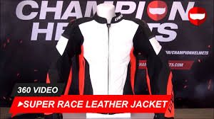 dainese super race leather jacket white fluo red black championhelmets com
