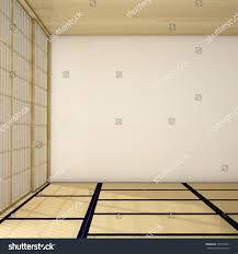 Mat Interior Design Interior Design Empty Living Room Wood Stock Illustration