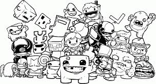 Small Picture Nintendo Coloring Pages Best Super Mario Bing Within diaetme