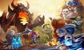 chi n th n dota battle with lina video game video 9gate