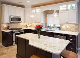 two tone kitchen cabinet design ideas | Kitchen Cabinets design ideas |  Pinterest | Cabinet design, Kitchens and House