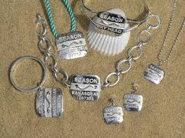 beach badge necklace shannon kennedy and doreen ryan