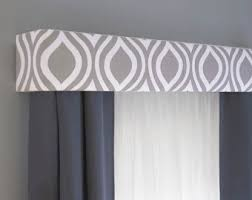 unique valances window treatments. Unique Window Gray Cornice Board Valance Window Treatment  Custom Curtain Topper In  Modern Grey And White Fabric On Unique Valances Treatments A