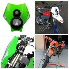custom seat covers papanda green motocross off road headlamp motorcycle of custom