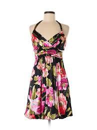 Details About Trixxi Women Black Casual Dress L