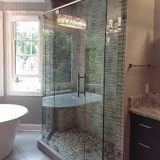 corner glass shower bathroom peachtree city ga