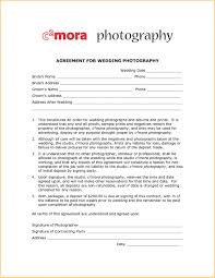 Photographer Agreement Template Lostranquillos