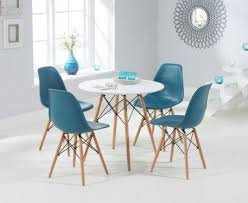 dsw eames style dining table. buy the charles eames style dsw round dining table with chairs at oak dsw d