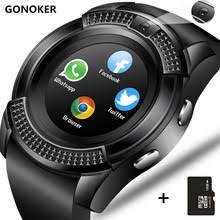Smart watch <b>v8</b> smartwatch <b>bluetooth touch</b> screen wrist watch with ...