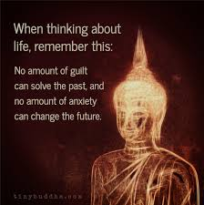 Small Picture When thinking about life remember this No amount of guilt can