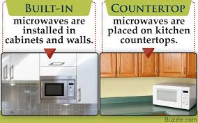 built in vs countertop microwave ovens simple quartz vs granite