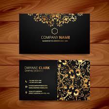 29 Beautiful Luxury Business Card Templates Word Psd Ai Free