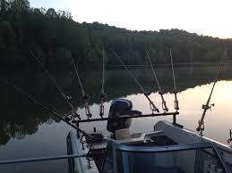 fishing rod holder pvc rod holders for jon boat img