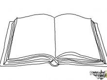 outline of open book open book coloring page open book drawing outline clipart 600 x 400