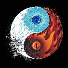 yin yang dragon ile ilgili görsel sonucu