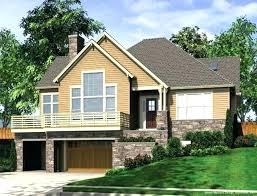 slope house plans sloped lot