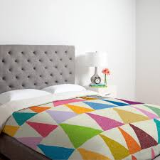 your ogous shapes in bloom lightweight duvet cover by deny designs here take your bedroom decor to a whole new level with this designer duvet cover