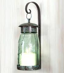 sconces glass sconces for candles quart mason jar hanging wall sconce candle holder terrarium globes