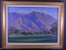 Ivan Gregory Sanchez Avila Caracas Oil Painting - shopgoodwill.com