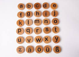 Summer and the most delicious fresh watermelon. Wooden German Lowercase Letter Magnets Montessori Alphabet Etsy