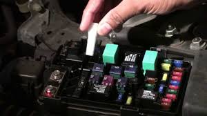 how to diagnosis and change the fuse of honda accord