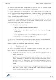 Chart Of Accounts Sample Pdf Sap Fico Bbp Sample Document Pdf New