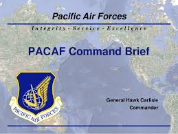 Pacaf 2013 Command Brief