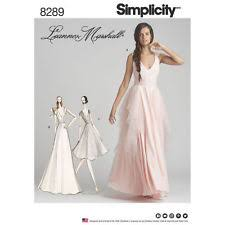 Wedding Dress Patterns To Sew Fascinating Bridal Sewing Patterns EBay