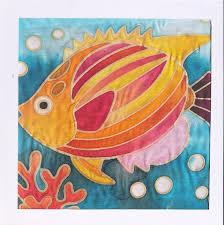 Batik Fish Design Color Cruiser Batik Fish Painting Kit