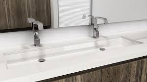 Install Bathroom Sink New VC48U Undermount Sink 48 inches CUBE Collection WETSTYLE