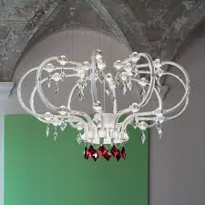 modern high end designer italian chandelier