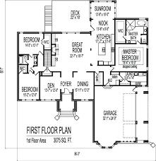 3 story house plans 1 y 3 bedroom sf house plans 2 bath basement garage new