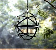 outdoor candle chandelier fresh chandeliers votive candle chandelier garden oasis five votive