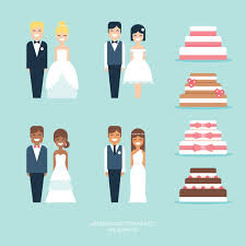 Top 60 Wedding Cake Topper Clip Art Vector Graphics And