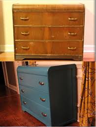 spray paint furniture ideas. vintage waterfall style dresser painted in dark turquoise latex and coated polycrylic we refreshed spray paint furniture ideas