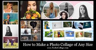 how to make a photo collage of any size