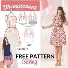 Free Dress Sewing Patterns Mesmerizing Free Dress Patterns Free Patterns Pinterest Dress Patterns
