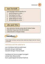 Berikut admin bagikan buku paket (bse) bahasa indonesia untuk kelas 1 sd. Kelas01 Bindo Umri