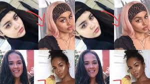 some white influencers are being accused of blackfishing or using makeup to appear black