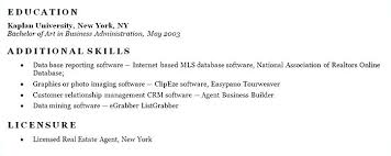 Sample Skills Resume Resume Template Directory