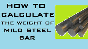 Steel Rebar Weight Chart How To Calculate Weight Of Steel Bar Learning Technology