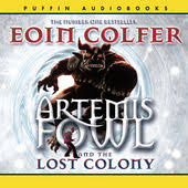 eoin colfer the lost colony artemis fowl book 5