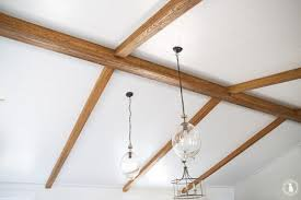 faux wood ceiling beams.  Faux Faux Wood Ceiling Beams Inside