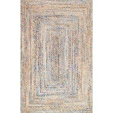 eliz jute blue 5 ft x 8 ft area rug