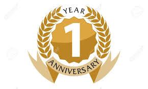 Anniversary Ribbon 1 Years Ribbon Anniversary Royalty Free Cliparts Vectors And Stock