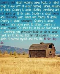 Country Life Quotes And Sayings