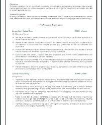 Nurse Objective Nursing Objectives For Resume Coachfederation