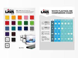 Printer Ink Price Comparison Chart Lava Ink Swatch And Comparison Chart By Ryan Cole On Dribbble